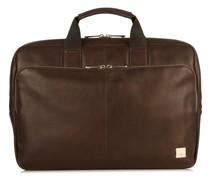 Brompton Newbury Aktentasche Leder Laptopfach brown
