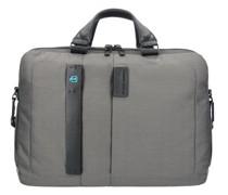 P16 Aktentasche Laptopfach grey
