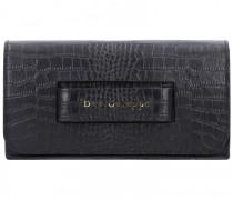 Clutch Tasche Leder 27cm nero