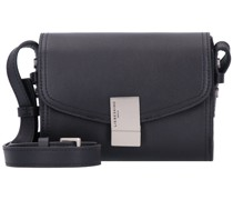 Flare Mini Bag Umhängetasche Leder black