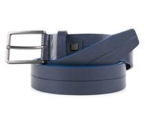 B2S Gürtel Leder blue