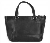 Lugano Handtasche Leder black