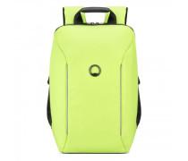 Securain Rucksack RFID Laptopfach limone