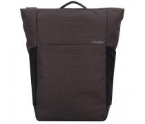 Plain Rucksack RFID Laptopfach ash grey