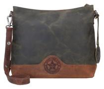 Hunter Umhängetasche Leder khaki/brown