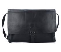 Scott Messenger Tasche Leder Laptopfach black