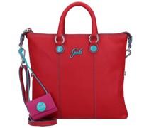 G3 Mini Handtasche Leder rosso