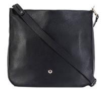 Capri Schultertasche RFID Leder black