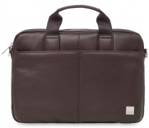 Brompton Stanford Laptoptasche Leder brown