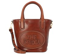 Penelope Handtasche Leder brown-gold