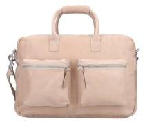 Handtasche Leder sand