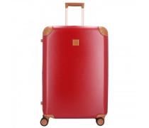 Amalfi 4-Rollen Trolley red