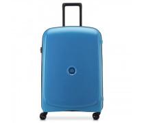 Belmont Plus 4-Rollen Trolley zink blau