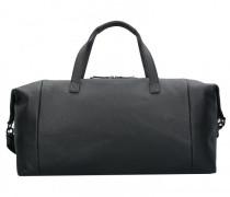 Kopenhagen Weekender Reisetasche Leder black