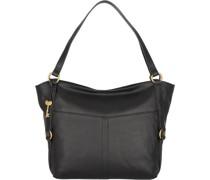 Sam Shopper Tasche Leder black