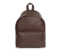 Padded Pak'r Rucksack Laptopfach brown authentic leather