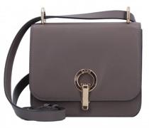 Michelle Mini Bag Umhängetasche Leder warm gray