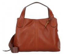 Maya Handtasche Leder brown