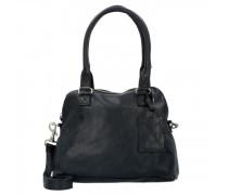 Bag Carfin Schultertasche Leder black