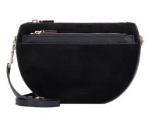 Mini Bag Umhängetasche Leder noir/noir