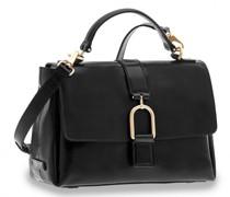 Virginia Handtasche Leder nero