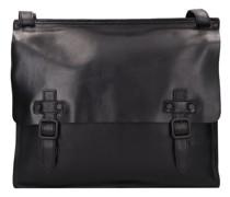 Aberdeen Aktentasche Leder Laptopfach black