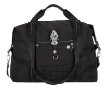 Nylon Logo Bagnificent Weekender Reisetasche bag in black