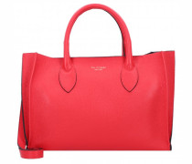 Handtasche Leder rosso
