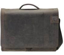 Richmond Messenger BriefBag XL Leder Laptopfach