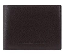 Business Geldbörse RFID Leder dark brown