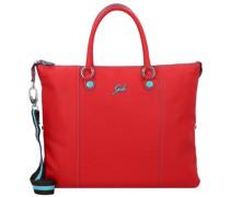 G3 Plus Handtasche Leder rosso