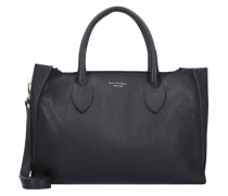 Handtasche Leder nero
