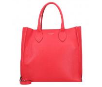 Shopper Tasche Leder rosso