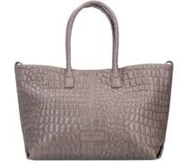 Chelsea Shopper Tasche Leder honey grey