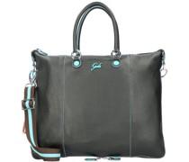 Week Plus Handtasche Leder black