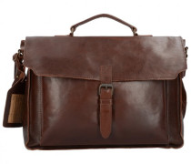 Nasty Cowboys Laredo Aktentasche Leder Laptopfach