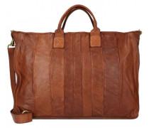 Handtasche Leder cognac