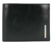 Blue Square Geldbörse Leder 12, black