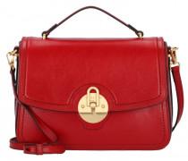 Corsini Handtasche Leder rosso