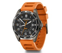 Fieldforce Sport GMT Quarzuhr Edelstahl