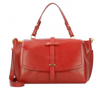 Florentin Handtasche Leder red currant / gold