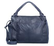 Cardiff Handtasche Leder blau