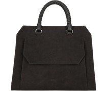 Cambridge 13 Handtasche Leder black