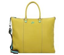 G3 Plus L Handtasche Leder cedro