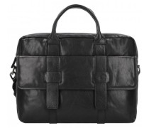 Imperial Aktentasche Leder Laptopfach schwarz