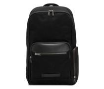 Distilled Project Rucksack Laptopfach Backpack jet black
