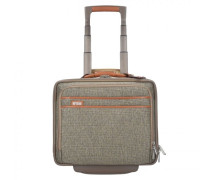 Tweed Belting 2-Rollen Businesstrolley Laptopfach