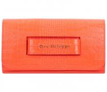 Clutch Tasche Leder 27cm arancio