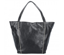 Shopper Tasche Leder nero