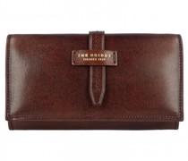Florentin Geldbörse Leder brown gold